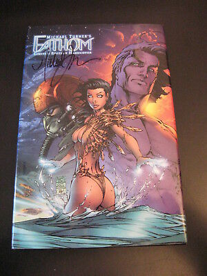Michael Turner's Fathom **ltd. Ed.** Hardcover **signed By Turner!**  Wow!