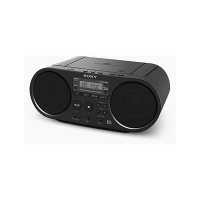 Sony ZSPS55 Boombox CD Player with FM DAB - Black