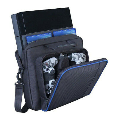 PlayStation 4 PS4 Console Case Travel Protective Padded Carry Bag Shoulder Strap