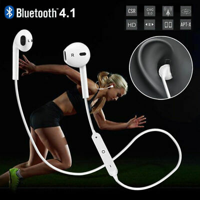 Kopfhörer Bluetooth 4.1 In Ear Wireless Sport Headsets für iPhone 7/8/X samsung