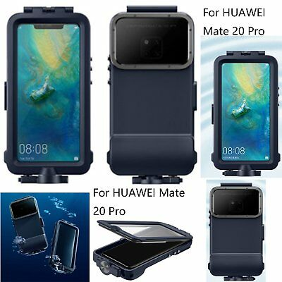Para HUAWEI Mate 20 Pro Carcasas Fundas Waterproof Swimming Diving Camera Cover