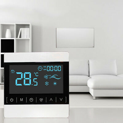 1x Digital Lcd Heizung Thermostat Fussbodenheizung