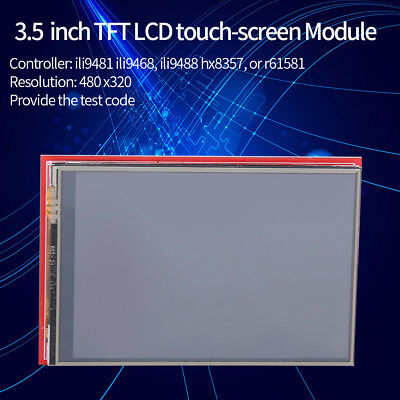 """Red 3.5"""" inch TFT LCD Touch Screen Display Module 480X320 for Arduino Mega2560"""