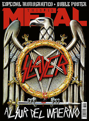 Magazine This is Metal Spain November 2018 Slayer + Poster Last!!