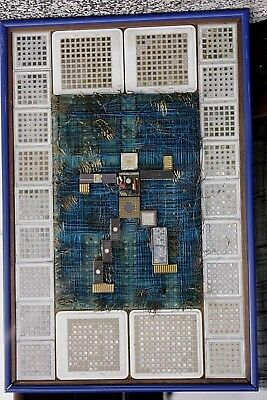 Collectors art object Mainframe IBM MCM 3090 TCM 4381 computer art see pictures