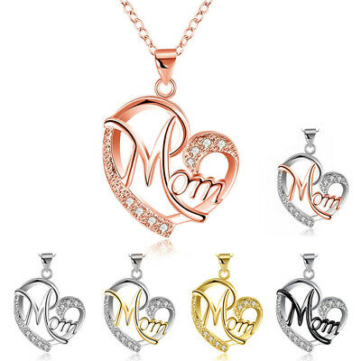 Hot Necklace For Women Personalized Heart Chain Necklace Choker Mom Beauty Gifts