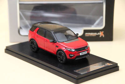 Premium X Range Rover Discovery Sport 2015 Red PRD402 Diecast Models 1:43 Resin