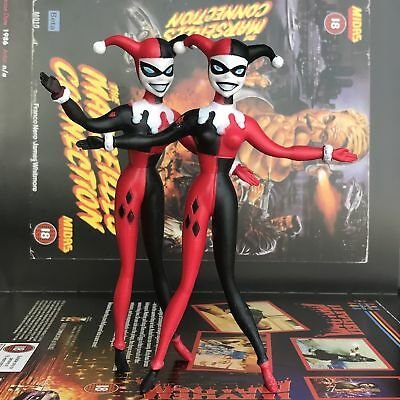 2X NJ Croce Batman Adventures Harley Quinn Bendable Action Figure Toy