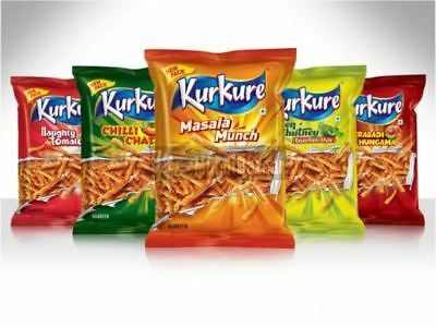 (PACK OF 30) Kurkure Masala Munch/Tamato/Rajasthani/Chilli Chataka-All Flavours