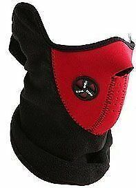 New Red Neoprene Bicycle Motorcycle Snowboard Ski Cycling Half Face Mask