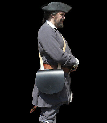 Early 17th or 18th Century Leather Grenadiers Bag REENACTMENT LARP