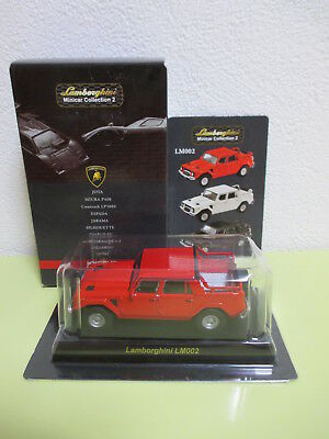 Kyosho 1/64 Lamborghini Minicar Collection 2 LM002 Red