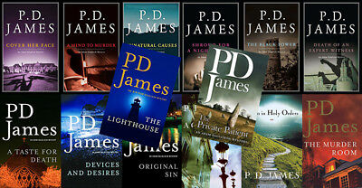 The ADAM DALGLIESH Mysteries By P.D. James (14 MP3 Audiobook Collection)