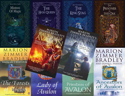 The AVALON Series By Marion Zimmer Bradley (10 MP3 Audiobook Collection)