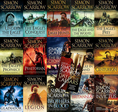 The EAGLES Of THE EMPIRE Series By Simon Scarrow (16 MP3 Audiobook Collection)