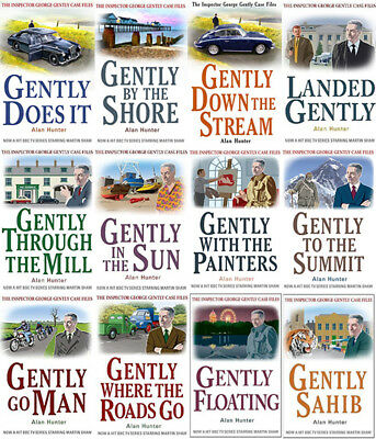 The INSPECTOR GEORGE GENTLY Mysteries By Alan Hunter (12 MP3 Audiobooks)