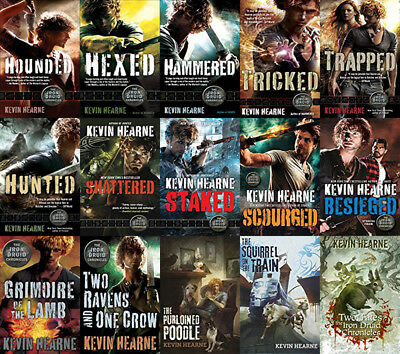 The IRON DRUID Series By Kevin Hearne (16 MP3 Audiobook Collection)