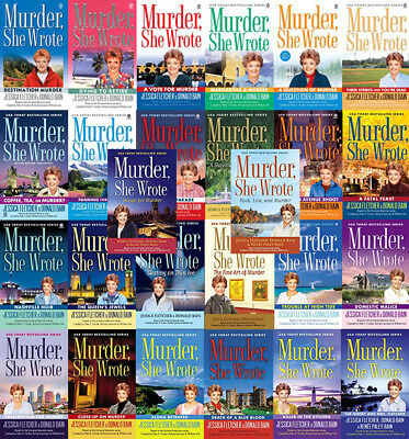 The MURDER SHE WROTE Mysteries By Jessica Fletcher (26 MP3 Audiobook Collection)