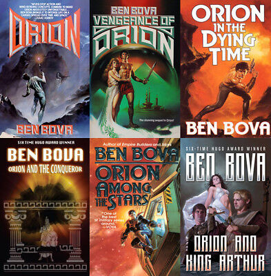 The ORION Series By Ben Bova (6 MP3 Audiobook Collection)
