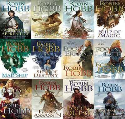 The REALMS OF THE ELDERLINGS Series By Robin Hobb (12 MP3 Audiobooks)
