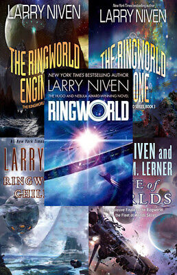 The RINGWORLD Series By Larry Niven (5 MP3 Audiobook Collection)