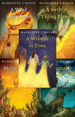 The WRINKLE IN TIME Series By Madeleine L'Engle (5 MP3 Audiobook Collection)