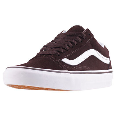 Vans Old Skool Womens Chocolate Suede Trainers