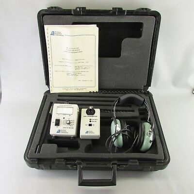Professional Ultrasonic Leak Detector Physical Acoustics 40 KHz COMPLETE - WORKS