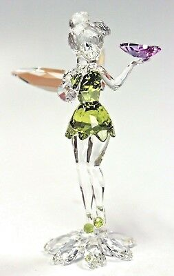 Tinker Bell With Butterfly Tink Tinkerbell Fairy 2018 Swarovski Crystal  5282930
