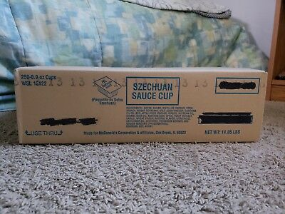 250 McDonald's Szechuan Sauce Case Authentic Sealed Unopened 2018 LE