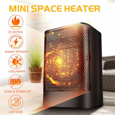 1500W PTC Ceramic Protable Electric Space Heater Fan Heating Warmer Room Office