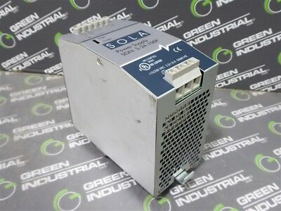 USED SOLA SDN 5-24-100P Power Supply Module 24VDC 5A