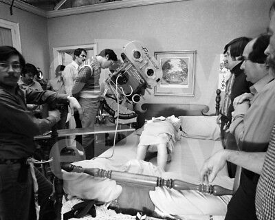 "The Exorcist (1973) Linda Blair ""Behind the Scenes"" 10x8 Photo"