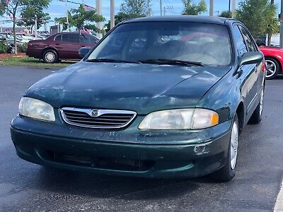 1999 Mazda 626  1999 Mazda 626 ES 4dr 2.0L I4 Automatic Cold AC Cheap Reliable FLORIDA OWNED