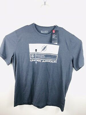 b07544ce Under Armour Flash T-shirt UA Loose Alter Ego Mens Tee Justice League DC  Size