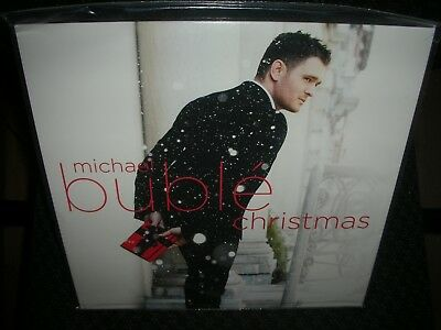 Michael Buble **christmas *brand New Limited Edition Red Colored Record Vinyl Lp