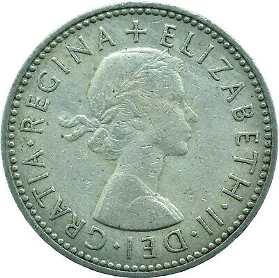 1953-1966 One Shilling / Queen Elizabeth Ii. Choose Your Date! One Coin/Buy!