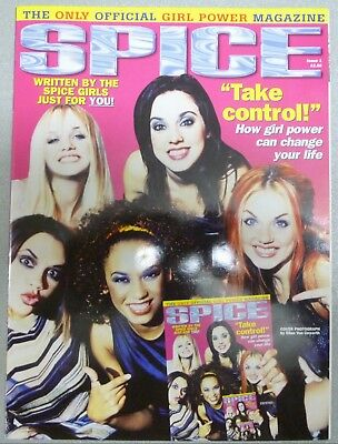 SPICE GIRLS OFFICIAL GIRL POWER MAGAZINE SPICE Issue 1 SPORTY SCARY POSH BABY GI