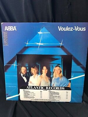 Abba-Out Of Print Gold Stamp Promo Time Strip Lp: Volez-Vous New Ex Collectible!