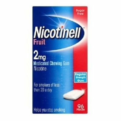 NICOTINELL MINT 4mg Chewing Gum X 96 Pieces