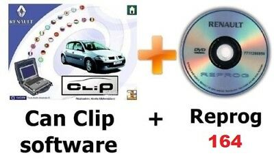 Renault Can clip V176 + Reprog v164 + Pin extractor 1 - 2
