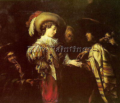 Flemish Cossiers Jan Flemish 1600 1671 Artist Painting Reproduction Handmade Oil