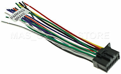 WIRE HARNESS FOR KENWOOD KDC-BT310U KDCBT310U Free Fast ... on kenwood home stereo system, kenwood car audio, kenwood kdc mp232, kenwood kdc 2019 wiring harness,