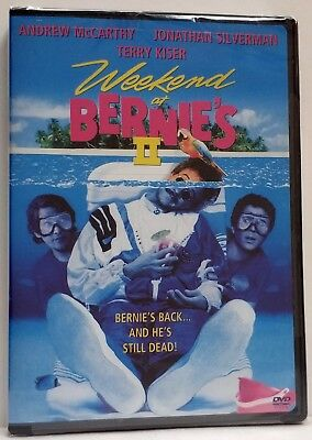 Weekend at Bernies II (DVD, 2001) Brand New! Factory sealed!