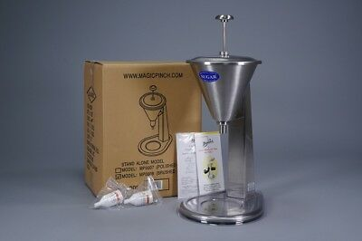 *magic Pinch Mp0008 Brushed Stainless Steel Stand Alone Sugar Dispenser ~ L@@k!!