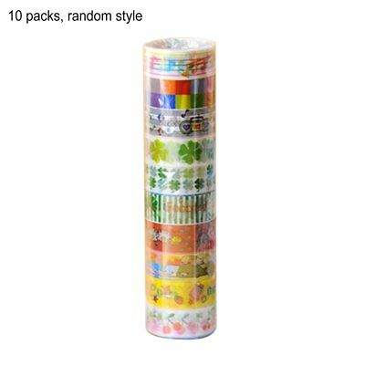 Cute Cartoon Tape Set Japanese DIY Craft Paper Tape for Decorative DF