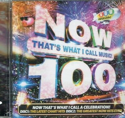NOW THATS WHAT I CALL MUSIC 100 (Various Artists) 2 CD Deluxe SET Free Shipping