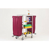 Fsmisc Maid Trolley Burgundy Bags 3067699 - 306769