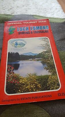 Loch Lomond, Stirling and Trossachs by Estate Publications (Sheet map, folded, 1