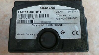 SIEMENS LME11.330C2BT Control Box Program for Burner Controller